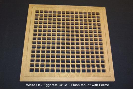 Custom Size Return Air Grille : Cape cod air grilles custom wood